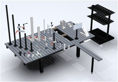 welding table | Welding table clamping elements and accessories