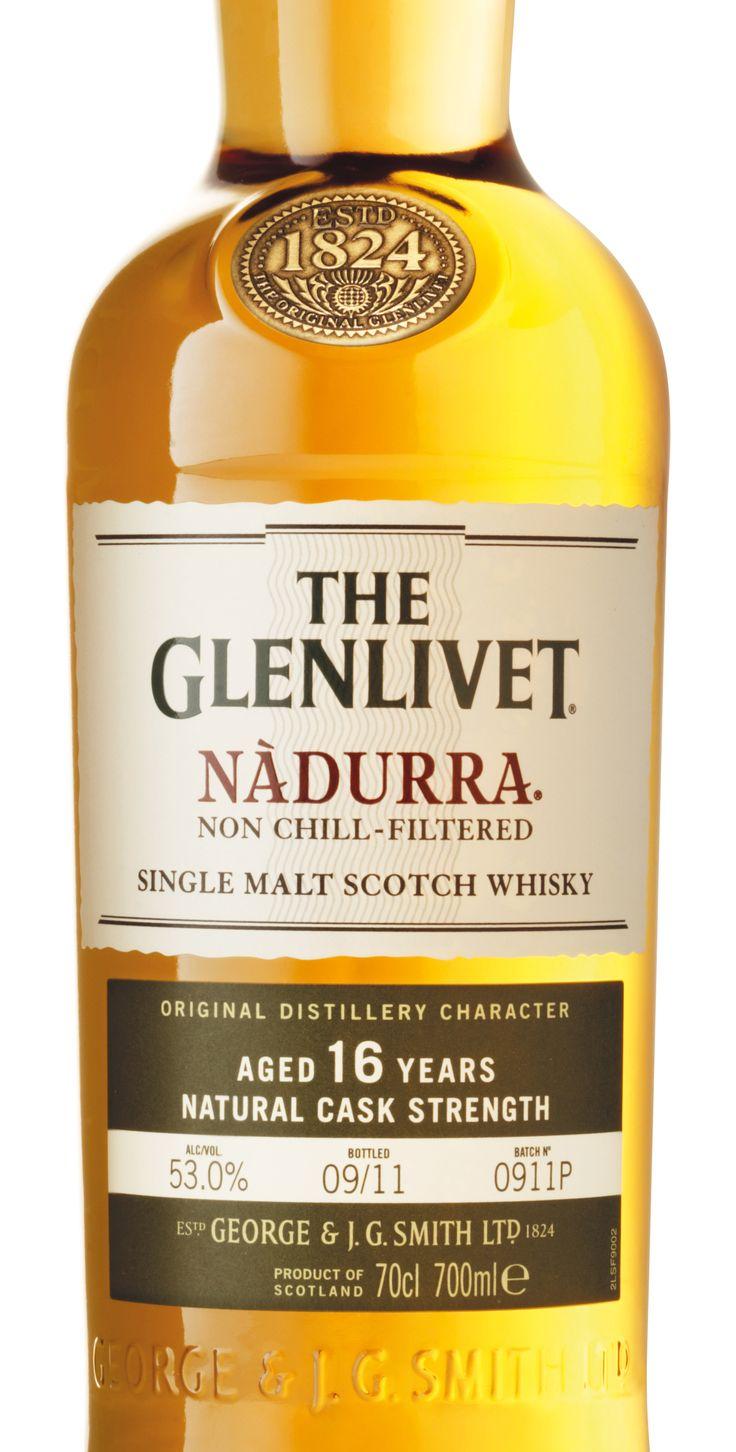 The Glenlivet Nadurra Packaging. Designed by Turner Duckworth.