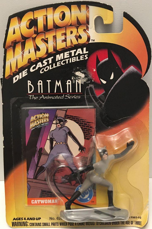 (TAS032910) - 1994 Kenner Action Masters Batman Die-Cast Figure - Catwoman