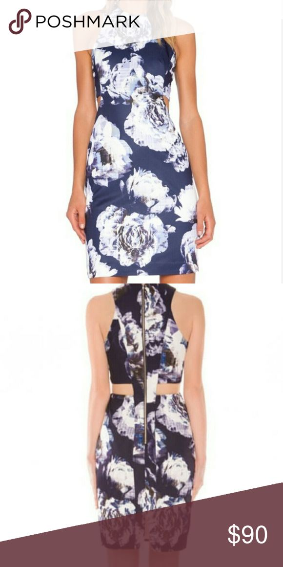 Finders Keepers Dress⚡⚡⚡one hour sale⚡⚡⚡ Finders keepers printed cutout dress Finders Keepers Dresses Midi