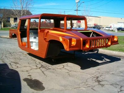 convertir un vieux pick up en hummer h1 tuning ford f 150 14   Convertir un vieux pick up en Hummer H1   tuning transformation pick up photo...