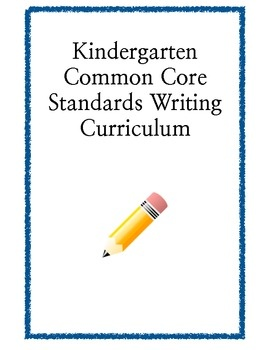 common core writing standards kindergarten Common core standards learn, plan, and implement common core in your classroom use the resource correlations tool to find common core-aligned resources from reading a-z, the ell edition, writing a-z, or science a-z or view all correlated resources at once.