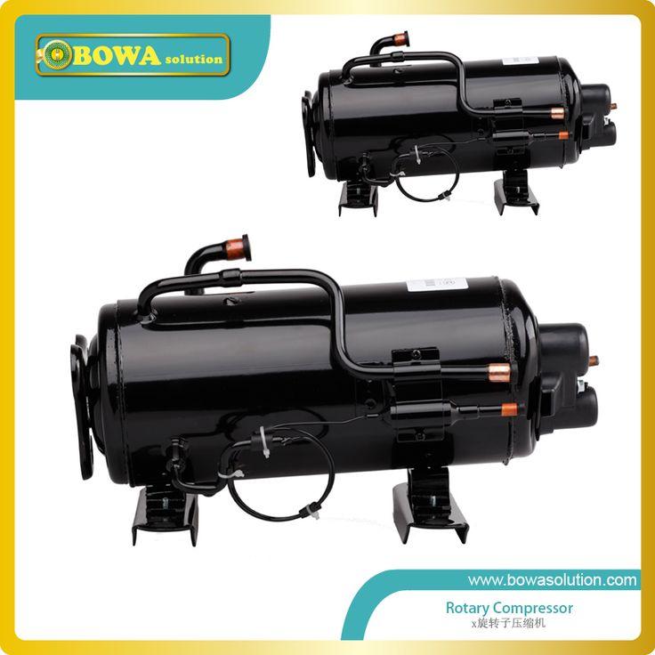 1HP Horizontal refrigeration compressor for  air dryer machine