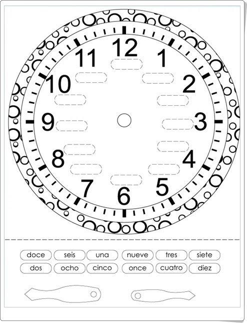 """""""Reloj de agujas para componer"""" (Chillola.com)"""