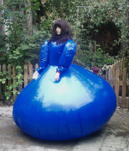 Inflatable Suit Blueberry