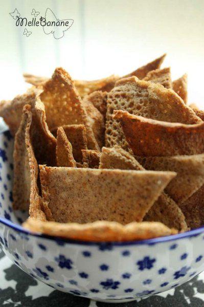 Chips de sarrasin ou blé noir