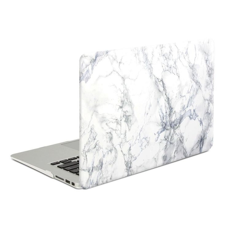 Amazon.com: Macbook Air 13 Case, GMYLE Hard Case Print Frosted for MacBook Air 13 inch - White Marble Pattern Rubber Coated Hard Shell Cover: Computers & Accessories