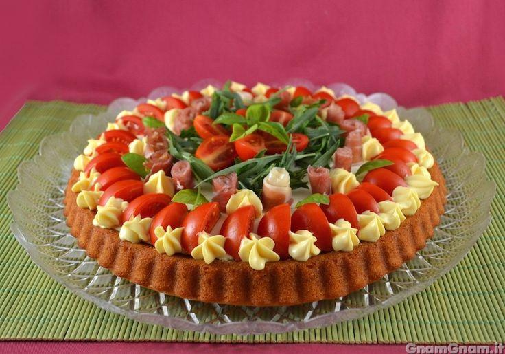 Scopri la ricetta di: Crostata salata con base morbida