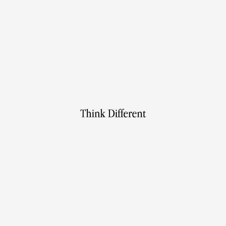 """Bazen büyük bir başarı öyküsünü iki kelimeyle anlatmak mümkündür; """"Farklı Düşün"""" #jargonmedya #creative #agency #apple #41yearswithapple #thinkdifferent"""