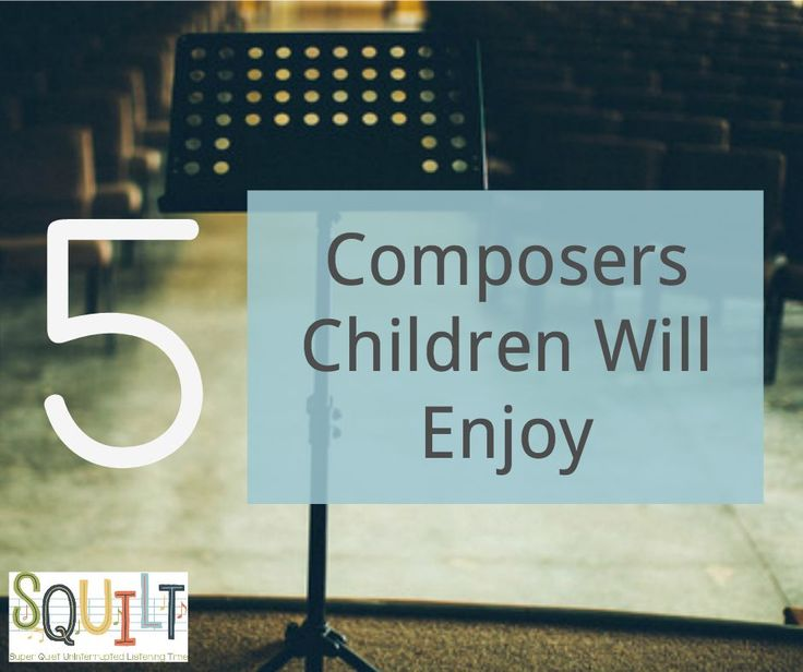 Teaching Music in Homeschool | 5 Composers Children Will Enjoy