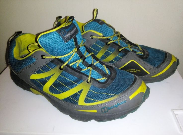 Men's Berghaus Limpet Fit System Opti Stud Size 10 Trainers Boots Walking Hiking