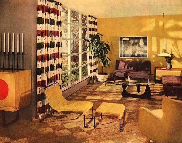 Mid Century Interior | Repinned by 360 Modern Furniture