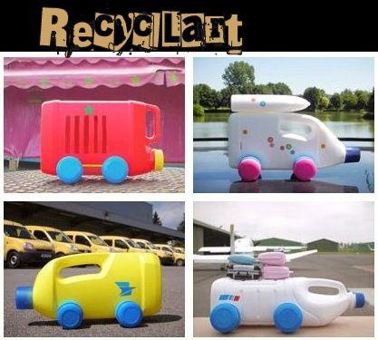 Manualidades con niños: Juguetes reciclados   Aprender manualidades es facilisimo.com