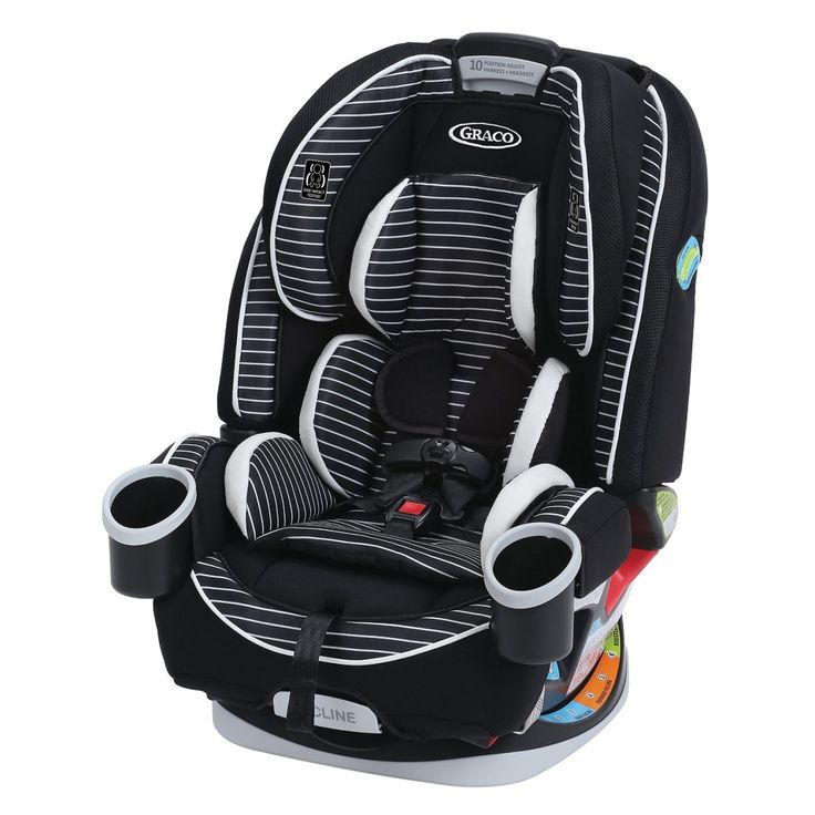 "Graco 4Ever All-in-1 Car Seat: A 2016 Editors' Pick from Birth to Seatbelt Like the Fountain of Youth or the Holy Grail, a true multi-function ""forever"" car seat has been eluding desperate searchers for years. Yes, there already are seats that rear-face, forward-face, and turn into a booster, but they are often lacking in at least one function, and when that happens, what's the point? So when Graco came out with the 4Ever All-in-1, which rear-faces, forward-faces, and turns into both a…"