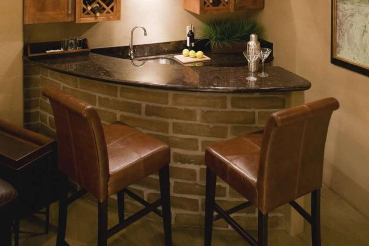 Angolo bar in casa - Zona bar angolare