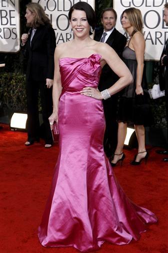 Lauren Graham, Red Carpet Golden Globes 2010