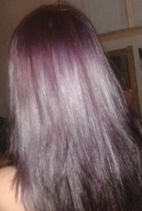 Manic Panic Purple Haze On Brown Hair Manic Panic Purple Haze Manic Panic Purple Hair