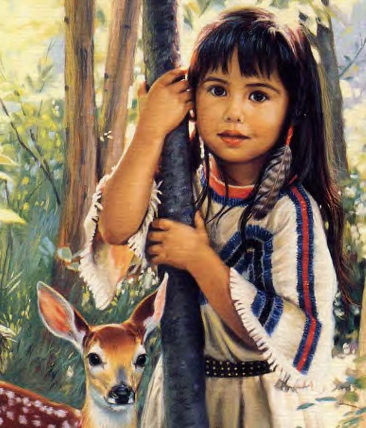 Native american girl 2by packmans 4