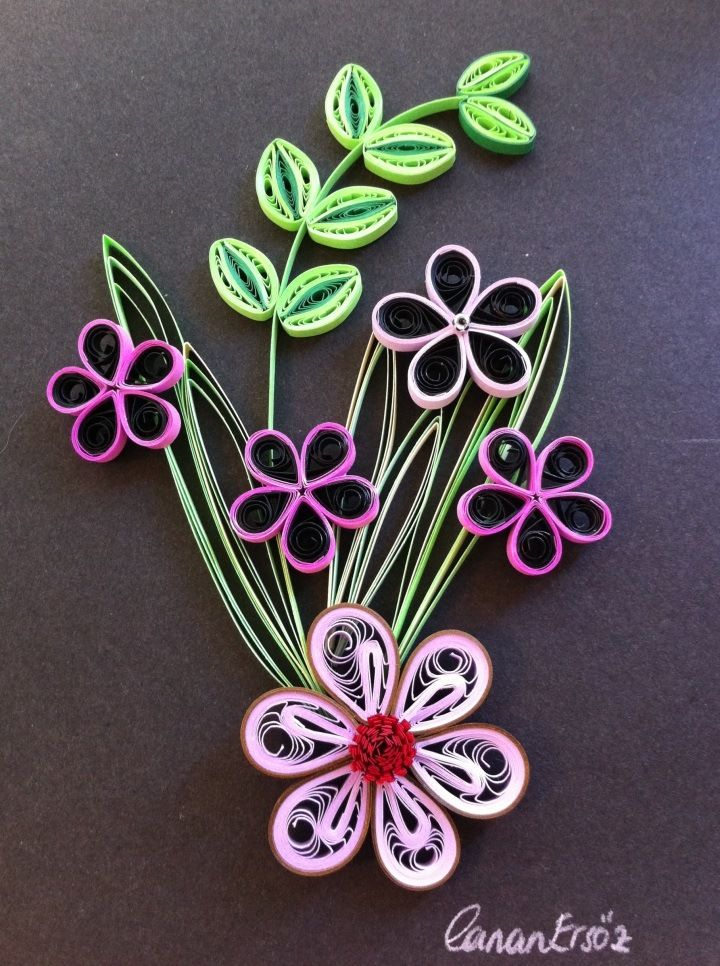 The 244 best images about quilled leaves on pinterest for Simple designs on paper
