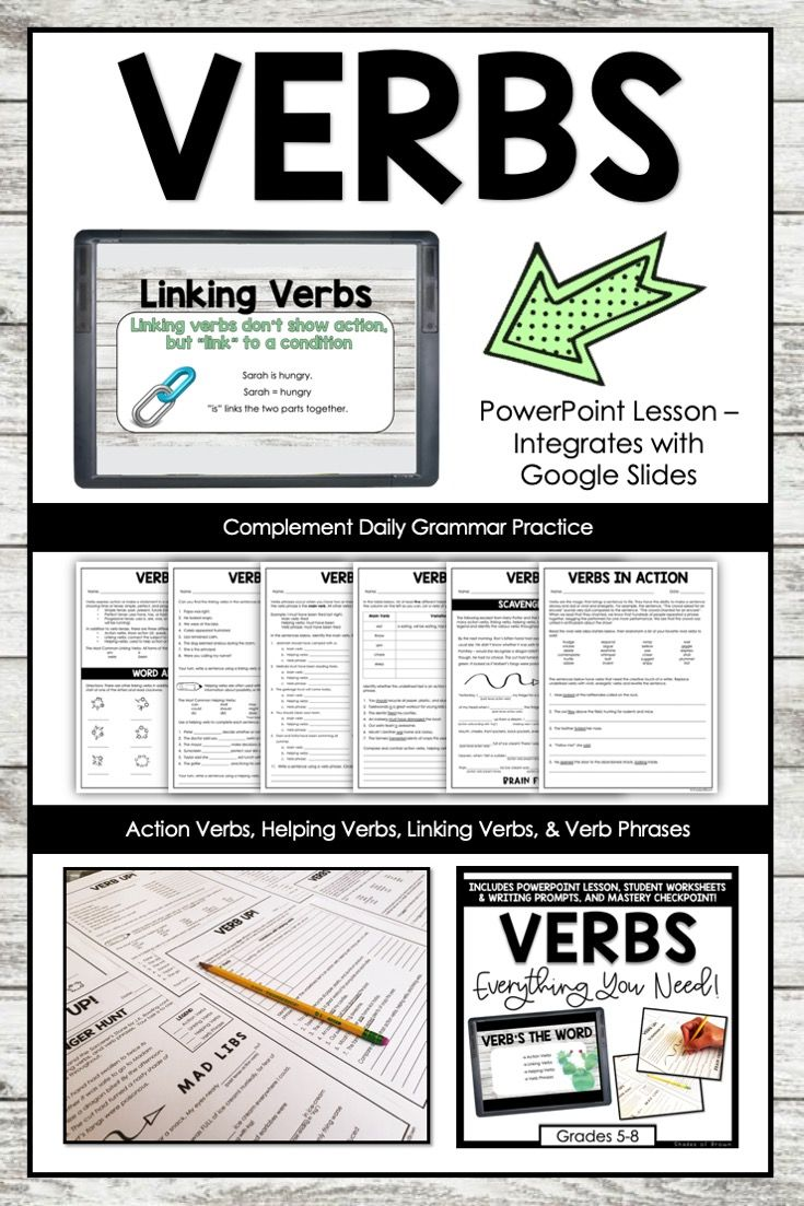 Action Helping Linking Verbs Lesson Activities Digital And Print Linking Verbs Verbs Lessons Helping Verbs [ 1103 x 735 Pixel ]
