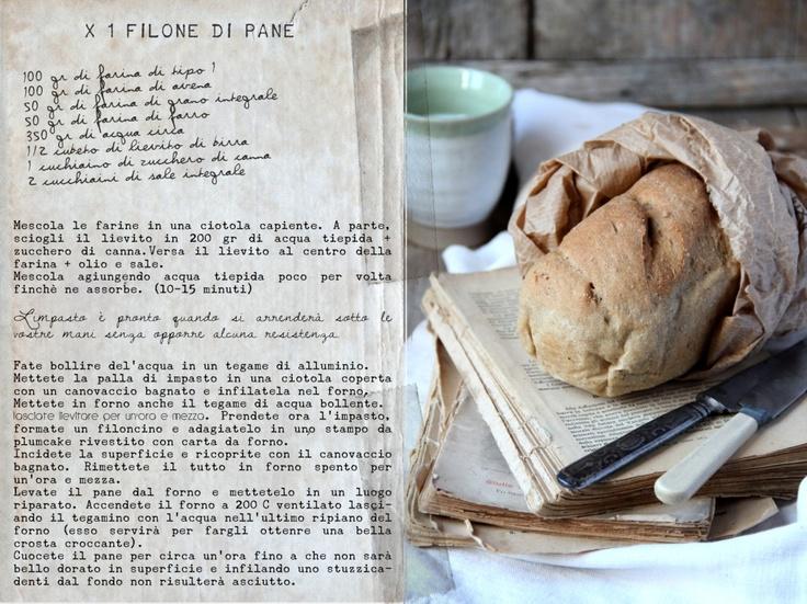 Fare il pane è sempre un'emozione - filoncino integrale