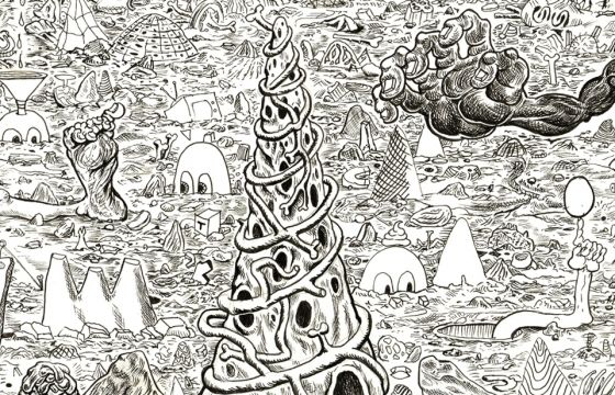 "Juxtapoz Magazine - Trenton Doyle Hancock ""Skin and Bones, 20 Years of Drawing"" @ Contemporary Arts Museum, Houston"