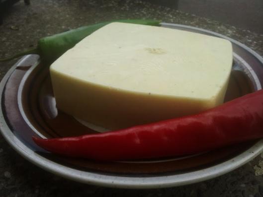 Veganost av sojamjölk och agar agar.