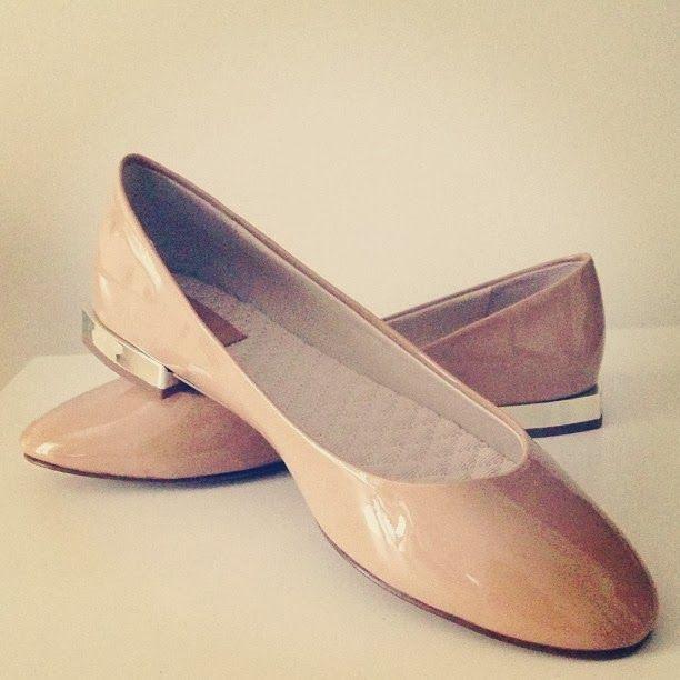Sparkly Fashion: SparklInsta #5 shoes, ballerina, flats, zara, nude, gold