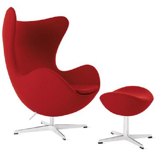 Egg Chair Avec Ottoman · Modern Furniture ...