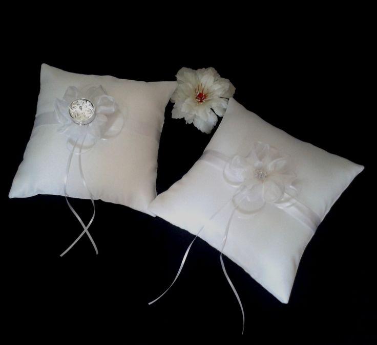 Co 107 cojin para arras y anillos blanco plateado bodas - Cojines para sillones de jardin ...