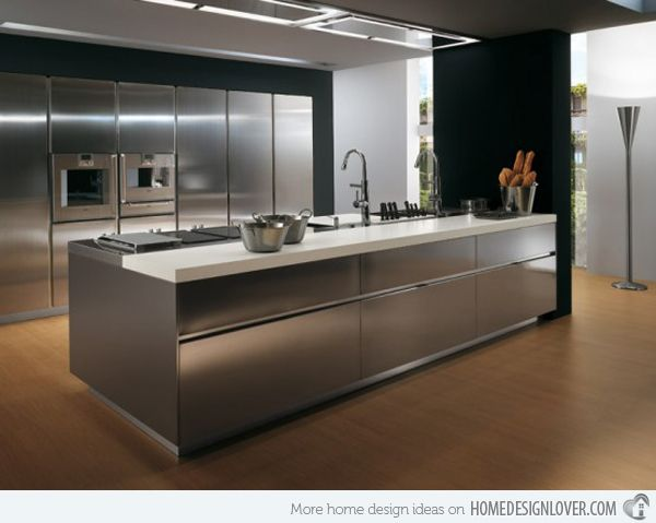 17 Best ideas about Metal Kitchen Cabinets on Pinterest | Gold interior,  Plywood kitchen and Metal cabinets