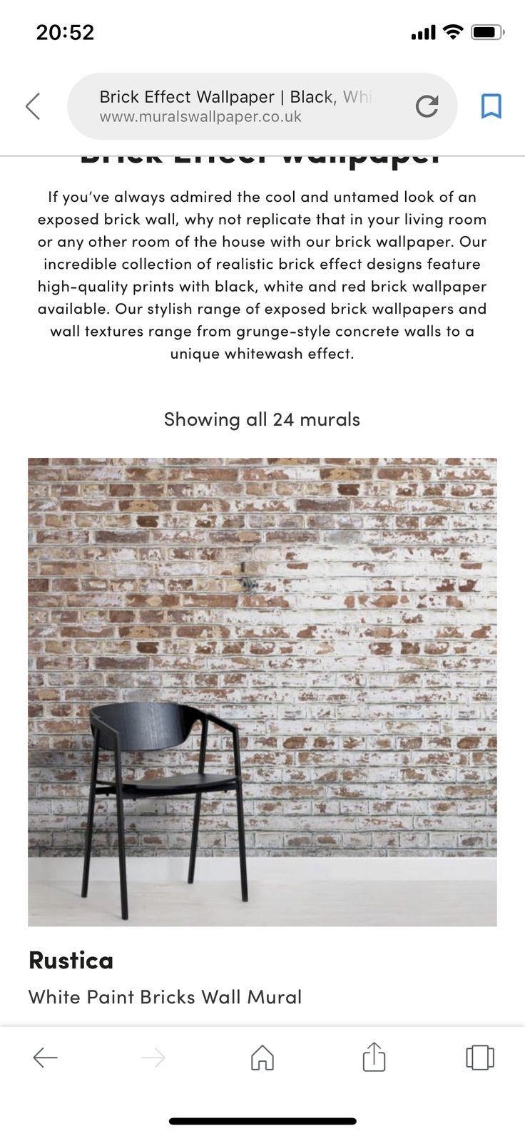 Idea by Abi Kendrick on Living room Brick effect