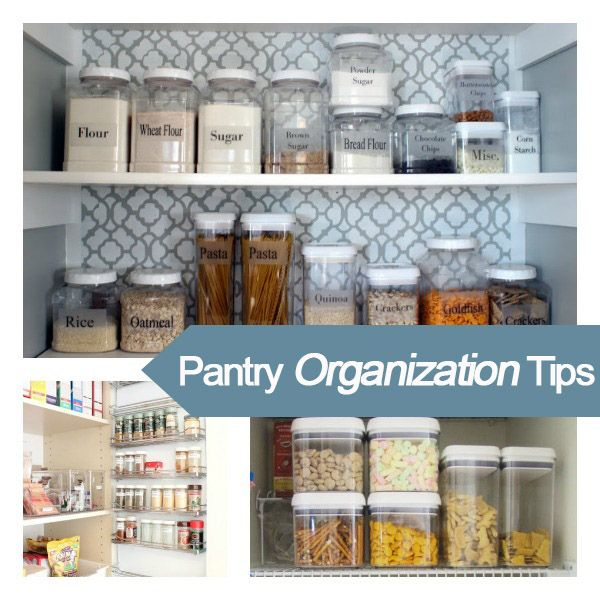 Organized Pantry And Pantry Tips: 51 Best Organize - Pantry Images On Pinterest