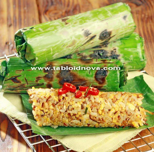 nasi bakar jagung