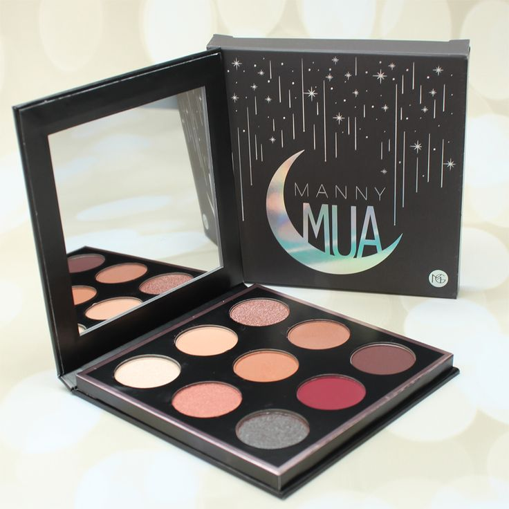 Today I'm going to show you theMakeup Geek MannyMUA Palette. I just received this palette yesterday from Makeup Geek, so it's brand new! I believe the palette launches on Feb. 24, 2016. I don't have pricing info