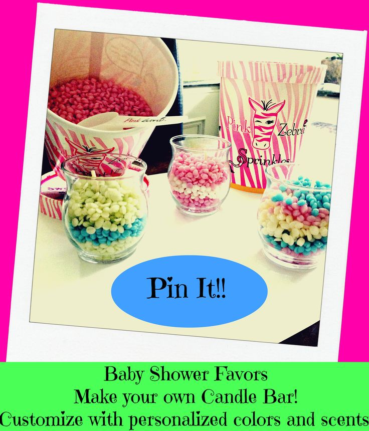 Baby Shower Favors. Donu0027t Use Generic Store Bought Favors. Have A Pink