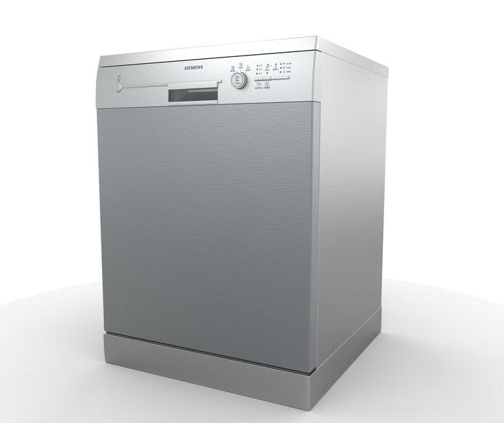 Siemens Dishwasher 3Ds - 3D Model