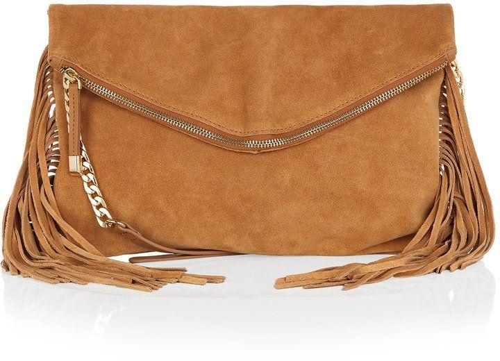 Pin for Later: Die wilden Siebziger sind zurück! Fransen Accessorize Bessie Crossbody-Tasche aus Leder mit Fransen (65€)
