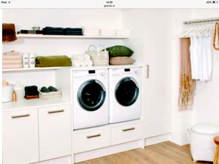 Handige wasruimte volgens Grando