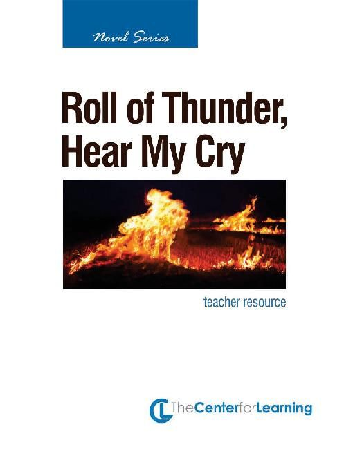 essay about roll of thunder hear my cry Free and custom essays at essaypediacom take a look at written paper - roll of thunder, hear my cry.