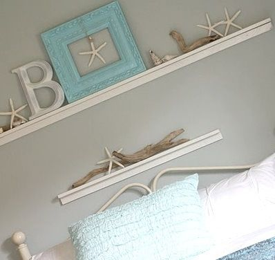 I like the star fish suspend in the frame
