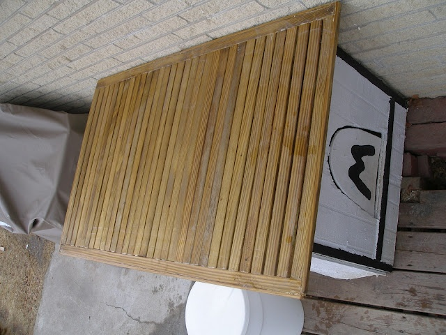 Portable Wooden Decks : Portable cooking deck table top wood projects pinterest