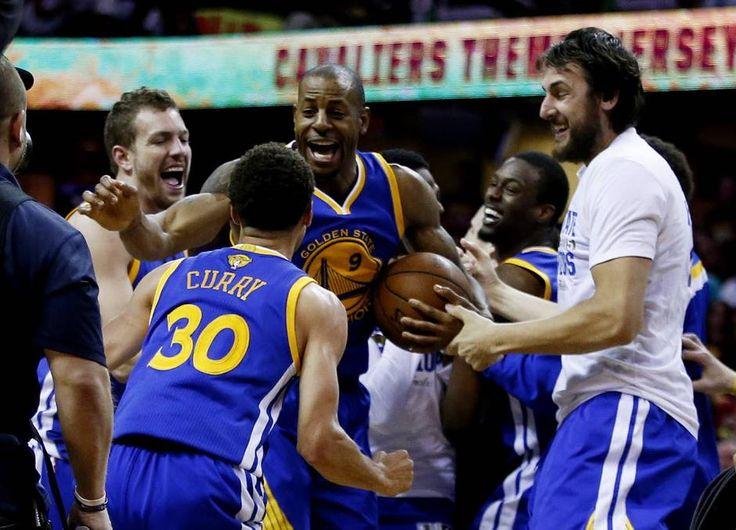 Golden State Warriors win NBA title defeating Cleveland Cavaliers 105-97 Golden State Warriors  #GoldenStateWarriors