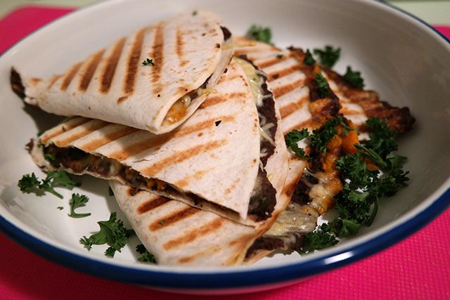 Recept: Quesadillas met zoete aardappel | IKBENIRISNIET | Bloglovin'