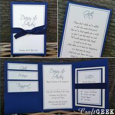 Royal Blue Wedding Inspiration from Facebook