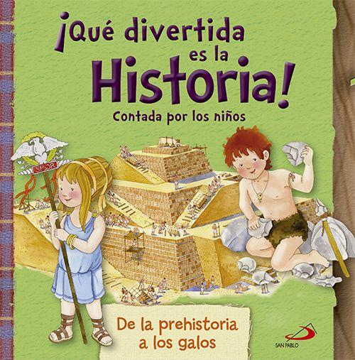 Gracias a este libro, los niños podrán conocer la historia de la humanidad y las civilizaciones antiguas a través de los ojos de otros niños como ellos, que vivieron en cada una de las épocas que recoge este volumen: la prehistoria, el antiguo Egipto, la civilización griega, el imperio chino, la Roma de los césares y las culturas célticas y galas.  http://rabel.jcyl.es/cgi-bin/abnetopac?SUBC=BPSO&ACC=DOSEARCH&xsqf99=1817562