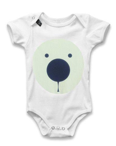 Baby Onesie PHOSPHOR BEAR