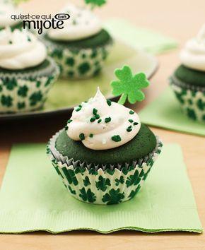 Petits gâteaux de la Saint-Patrick #recette