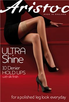 Aristoc 10 Denier Ultra Shine Hold Ups.