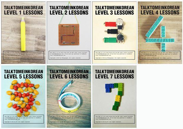 Always wanted to speak Korean. Someday!  #Korean Language : Levels 1 - 7 Lesson Plans!